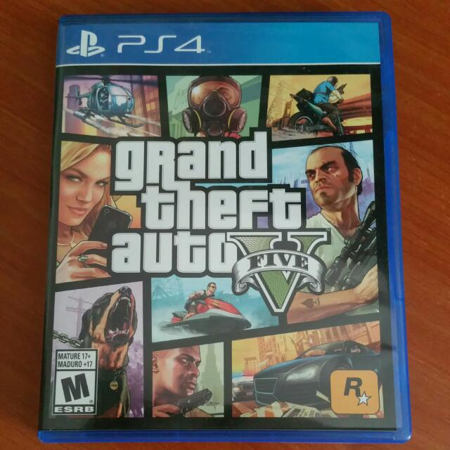 Amazoncom Grand Theft Auto V  PlayStation 4 Take 2
