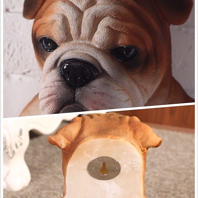 哈巴狗斗牛犬动物创意卷筒卫生纸架挂钩