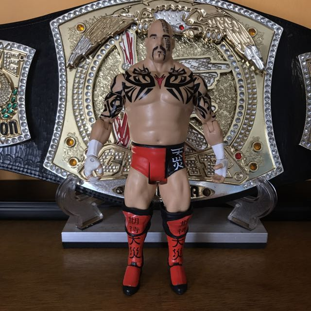 wwe mattel basic lord tensai
