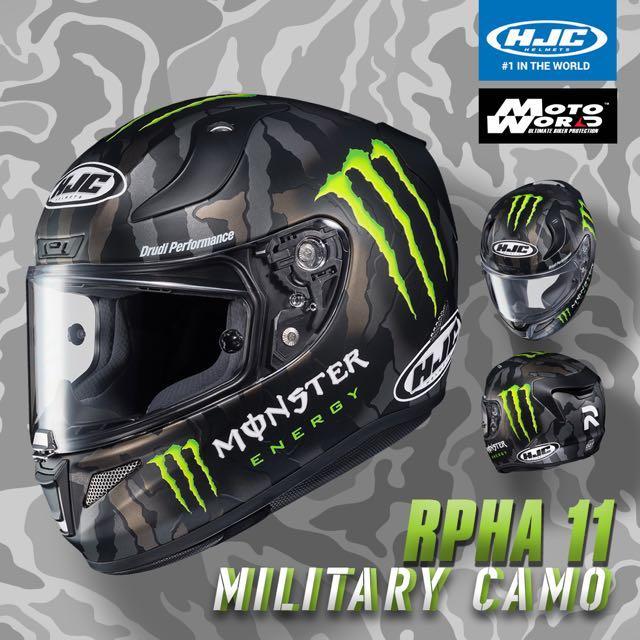 Hjc rpha 11 military camo