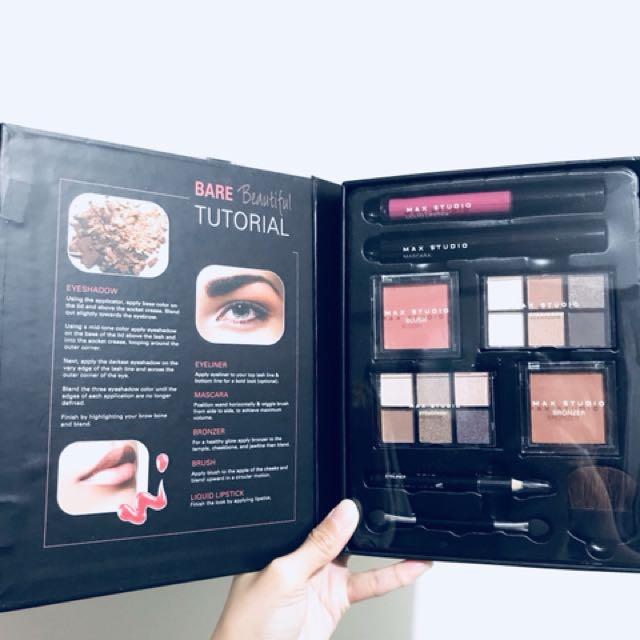 Max studio makeup