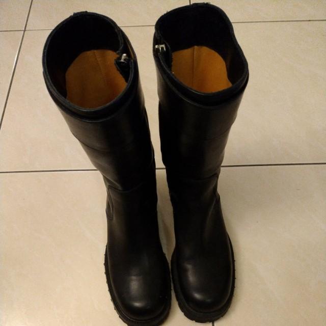 celine皮靴