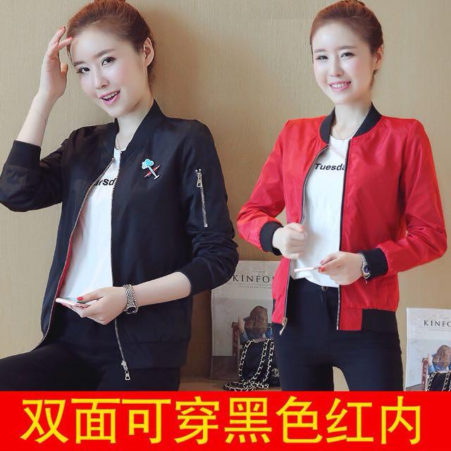 two side wear style jacket