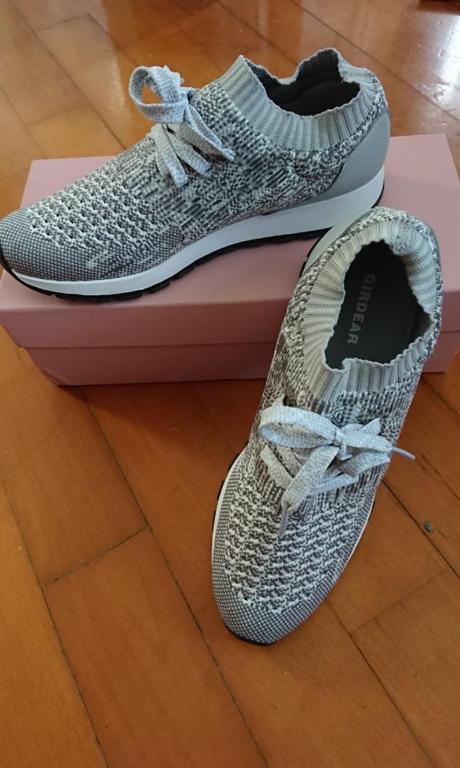 ps画飞织鞋子