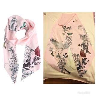 减价brand new ted baker unicorn enchanted dream pink scarf