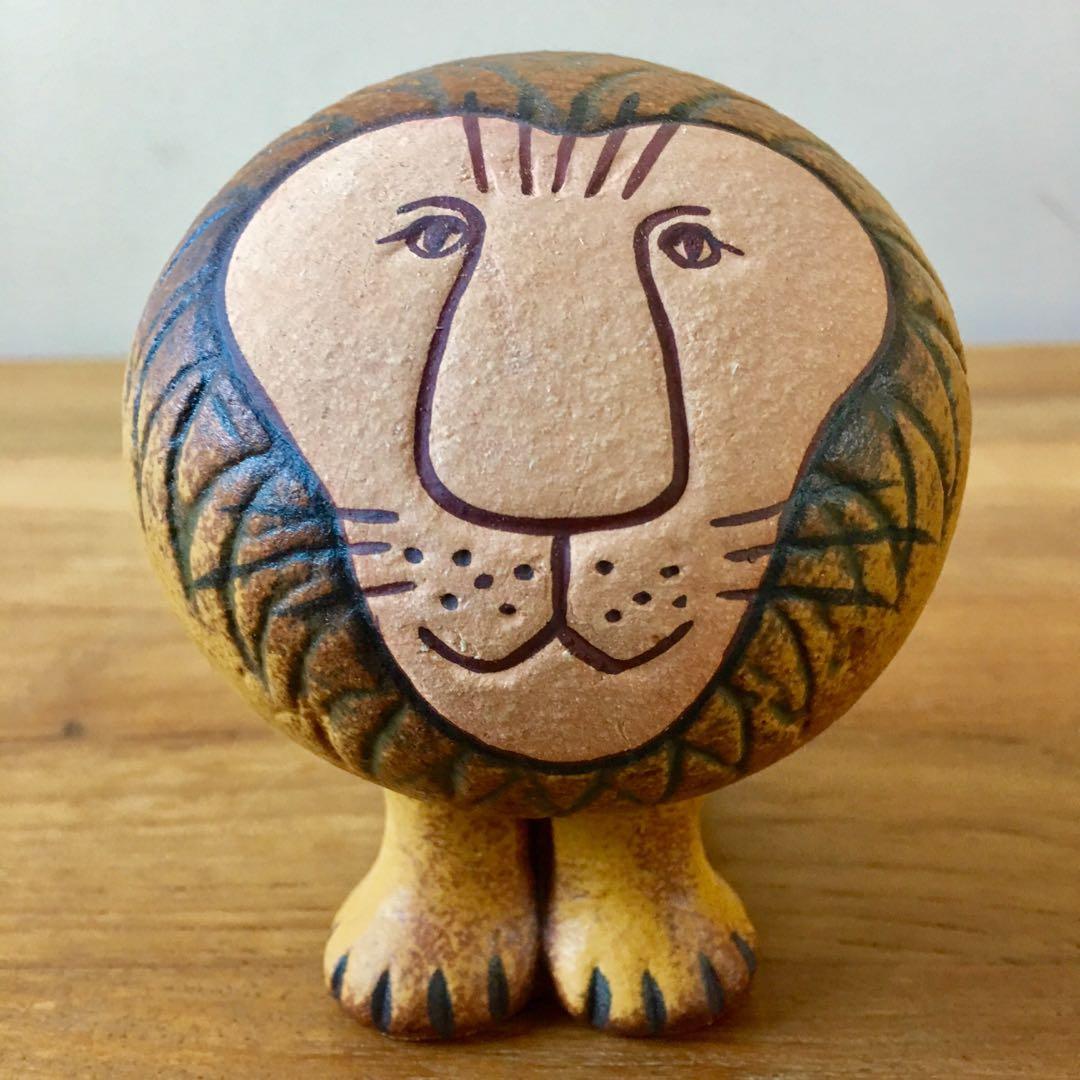 [瑞典进口] lisa larson陶瓷动物(小狮子)