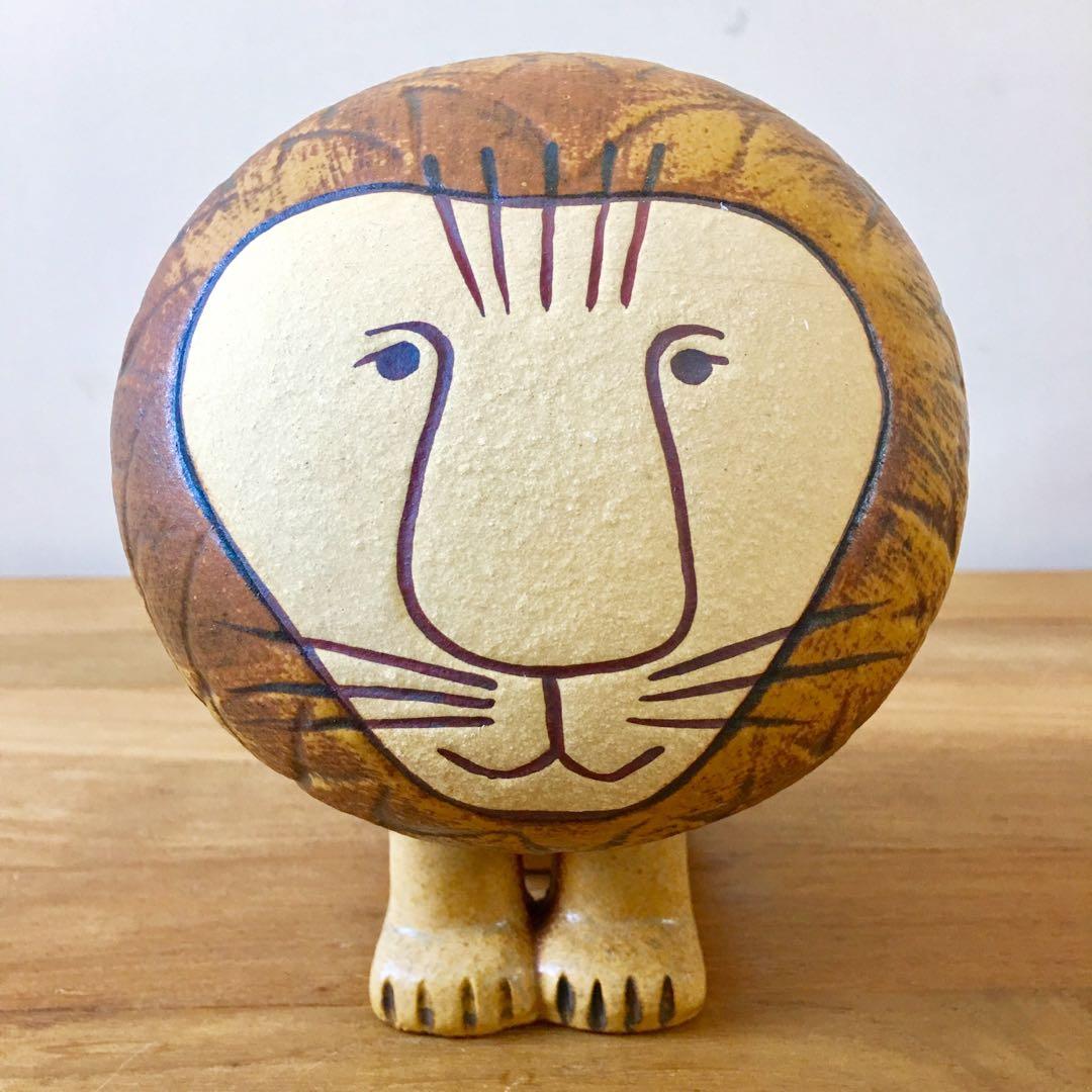 [瑞典进口] lisa larson陶瓷动物(中狮子)