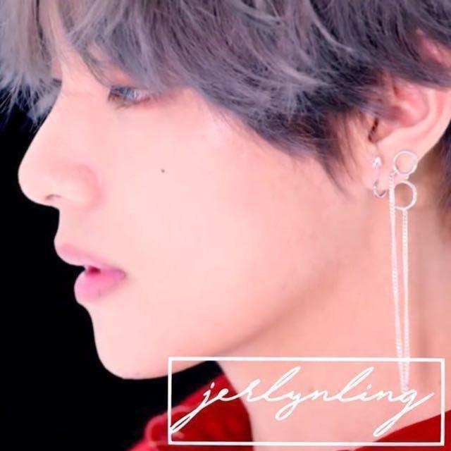 bts v dna earring