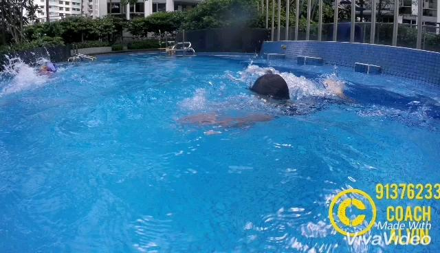 Swimming lesson for kids and adults - 91376233