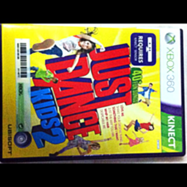 Xbox Games- Just Dance Kids 2 and Disneyland Adventure