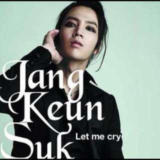 Jang Keun Suk-Let Me Cry Album