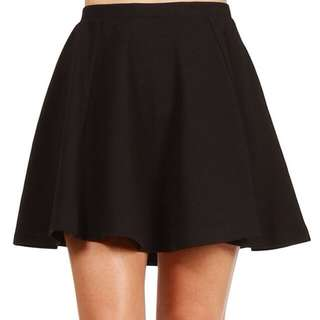 BNIB Black Skater Skirt PENDING