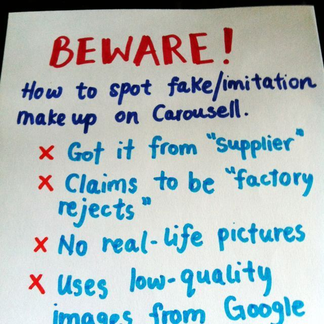 How to spot fakes