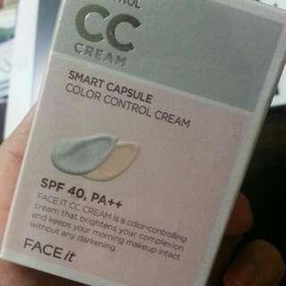 FACE SHOP Color control CC CREAM