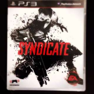 [PS3] Syndicate NEW w/ Multiplayer