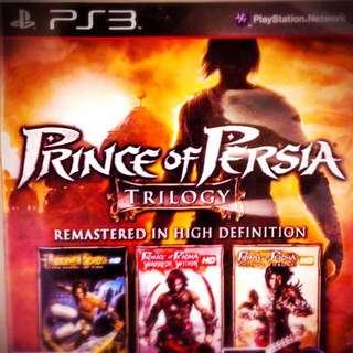 [PS3] Prince Of Persia Trilogy HD Remastered