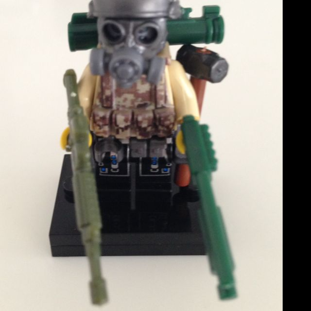 Lego Swat Camo Minifigure Toys Games On Carousell