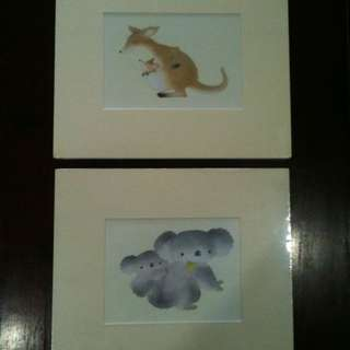 Hand Painted Animals Pictures