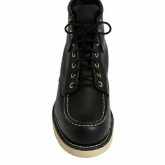 Redwing Black Moctoe Boots
