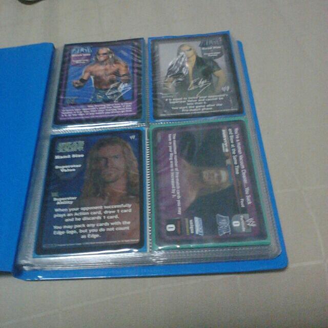 Sell WWE Card Edge Full Set