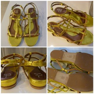 Ck Flat Strappy Calvin Klein Sandals WED9e2YHI
