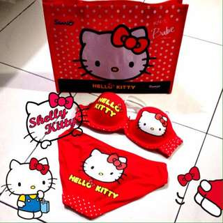 Bra Set Hello Kitty