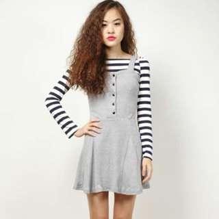 RWB Grey Skater Dress
