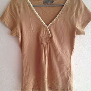 Light Brown Top