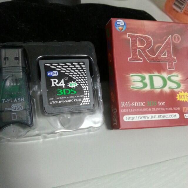 R4i RTS For Nintendo Dsi XL And Below