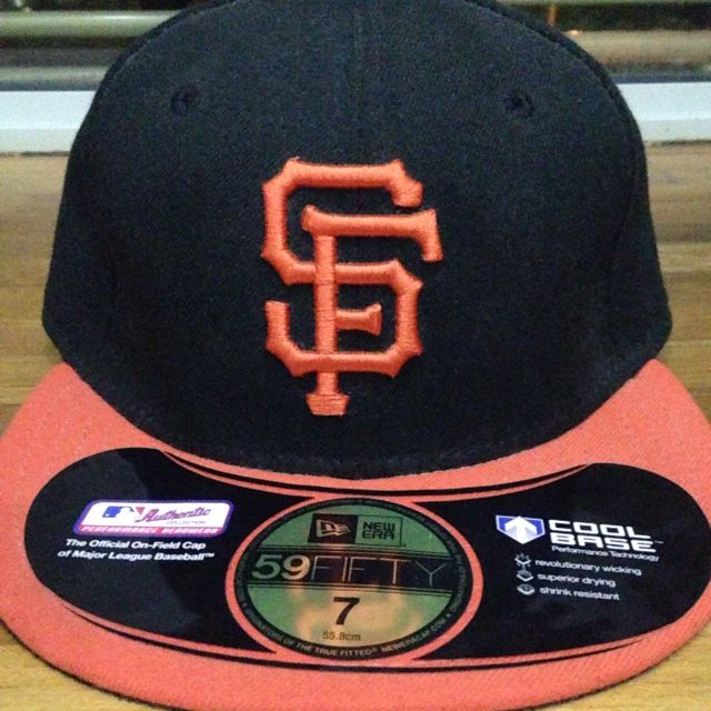 San Francisco Giants New Era MLB Authentic Collection 59FIFTY Cap ... 79d1aa9af1e