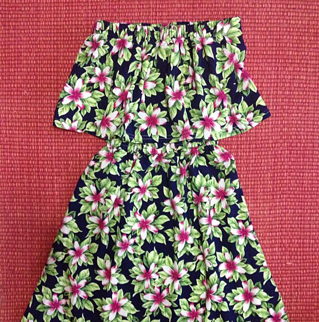 BN Floral 2tier tube dress!