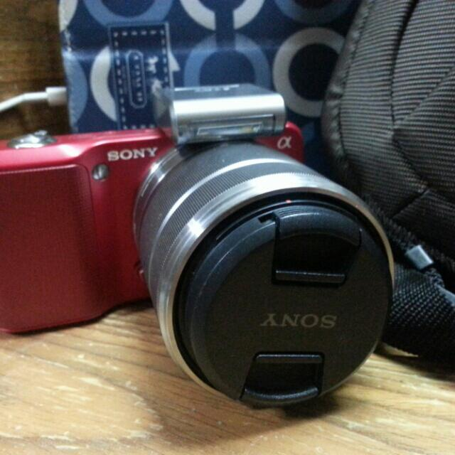 Sony Compact Dlsr Nex 3 RED