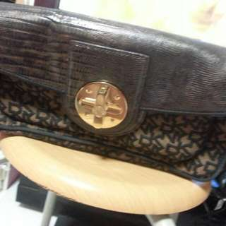 Authentic DKNY clutch Bag