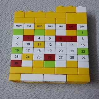 Calender Lego/Puzzle