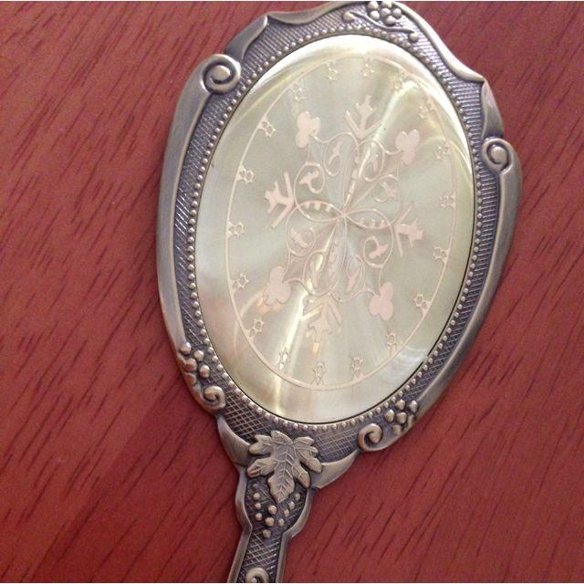 Handy Vintage Mirror