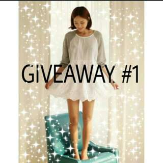 GIVEAWAY #1