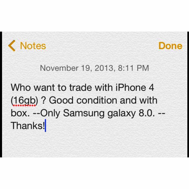 iPhone 4 (16gb)