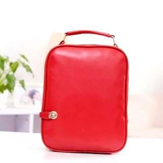 BN Red Korean Bagpack!