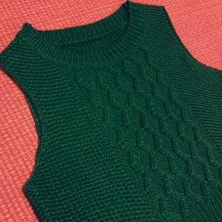 BN Green Winter Crop Vest!