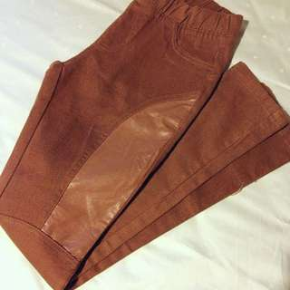 BN Brown Lether Pants! (pending)