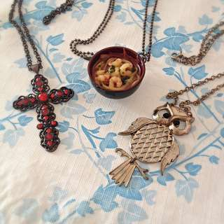 Cute necklaces (Price Reduced)