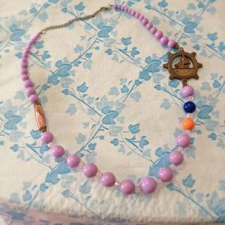 Sailor themed necklace (Price Reduced)
