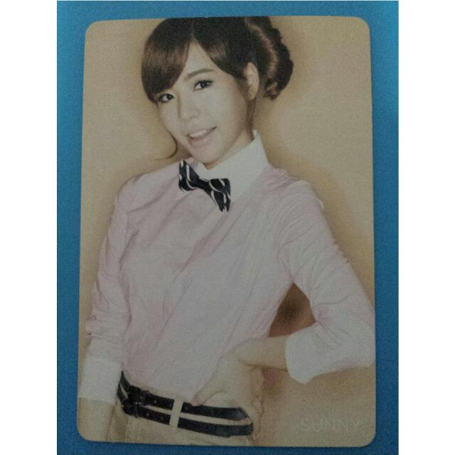 Sunny Gee Japan Photocard
