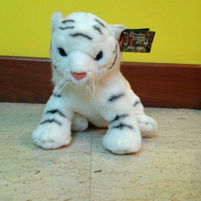 Singapore Zoo White Tiger Plush Toy New Toys Games On Carousell