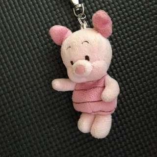 Piglet keychain