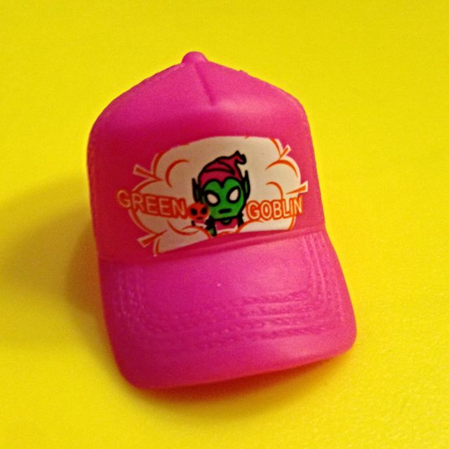 The $1 Toy Sale! - Marvel Tokidoki Spider-Man Green Goblin Pink Cap  Miniature