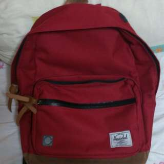 Herschel Red Pop Quiz Bag