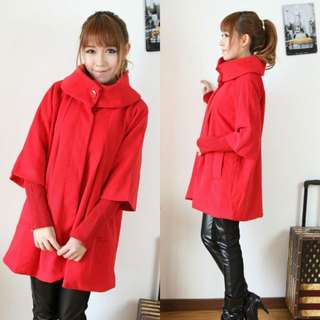 Winter Red Coat