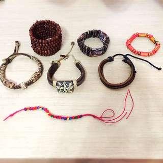 5 + 2 Bracelets For $6