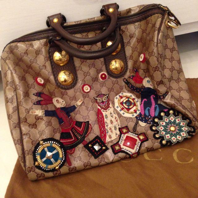 235a1ff80b9b0e Gucci Babouska Boston Bag, Luxury on Carousell